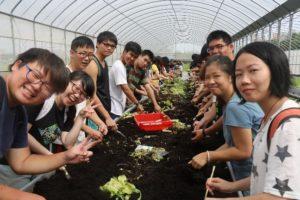 首次生態農場體驗教學
